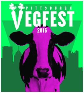 VegFest 2016 Color Logo Cow Rectangle